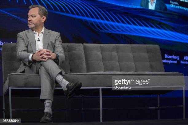 Bill McGlashan chief executive officer and managing partner of TPG Growth LLC listens during the Bloomberg Invest Summit in New York US on Tuesday...