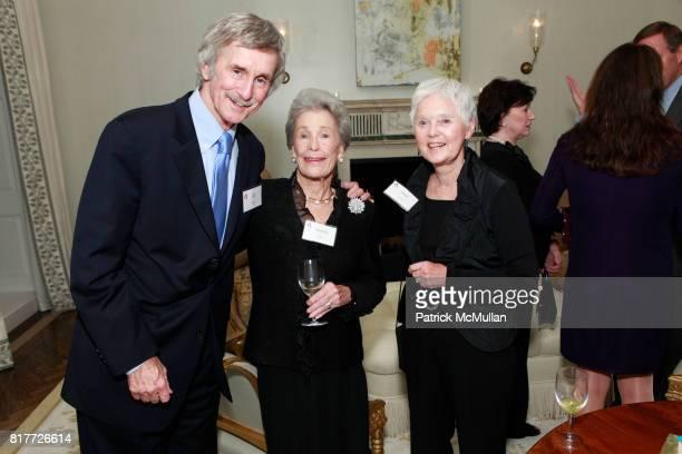 Bill Milliken Dorothy Baldwin and Janet Johnson attend National Board of COMMUNITIES IN SCHOOLS Celebrate BILL MILLIKEN'S Birthday at the Residence...