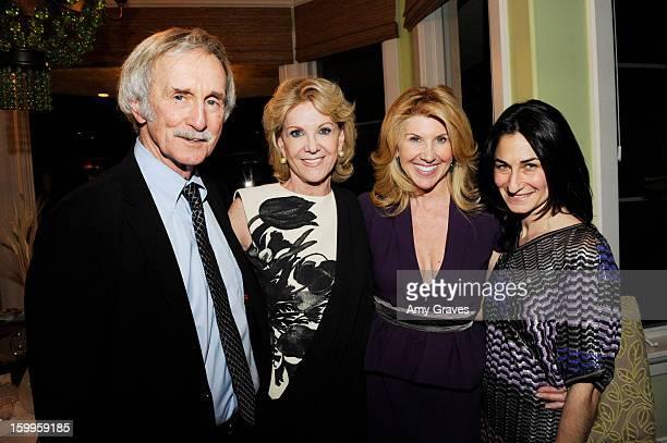 Bill Milliken Elaine Wynn Kevyn Wynn and Deborah Marcus attend Kevyn and Elaine Wynn's Dinner for Communities In Schools on January 23 2013 in...