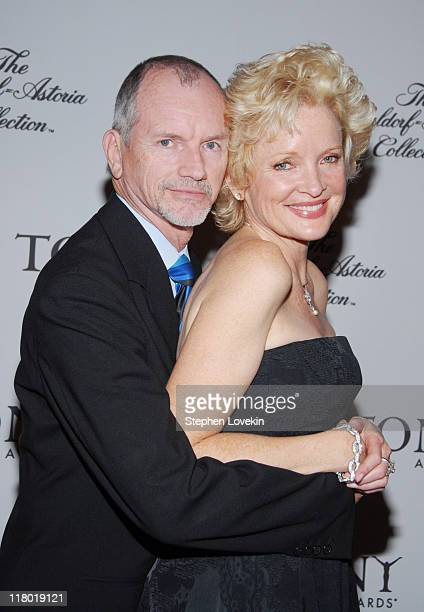 Bill Moloney and Christine Ebersole during 60th Annual Tony Awards Cocktail Celebration at The Waldorf Astoria in New York City New York United States