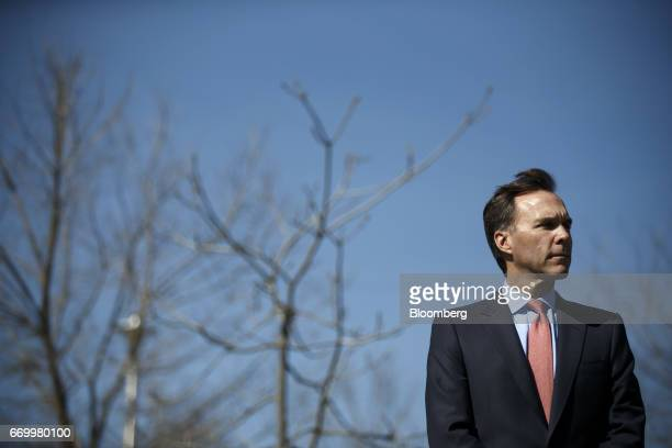 Bill Morneau, Canada's finance minister, listens during a press conference with John Tory, mayor of Toronto, and Charles Sousa, Ontario's finance...