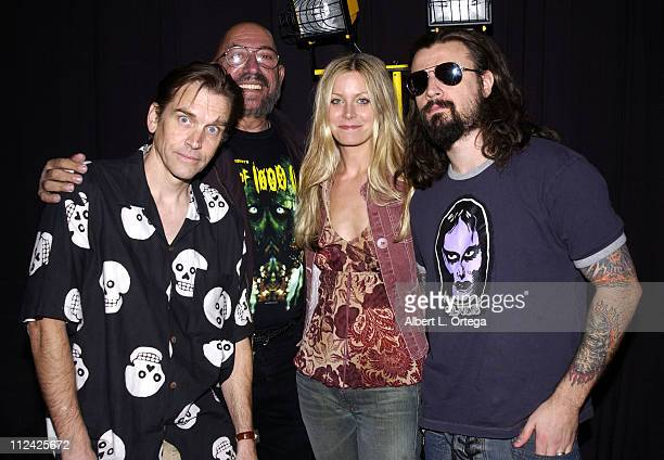 Bill Moseley Sid Haig Sheri Moon and Rob Zombie during Creation Entertainment's Comic Book and Pop Culture Convention Day Two at Pasadena Convention...