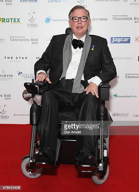 Bill Moss attends the 6th Annual Sydney Chocolate Ball 2015 at The Star on July 4 2015 in Sydney Australia
