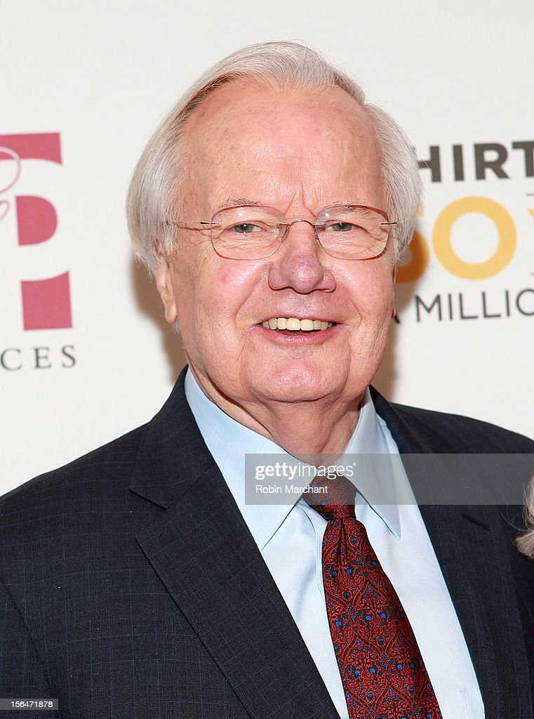 Bill Moyers attends the THIRTEEN 50th Anniversary Gala Salute at David Koch Theatre at Lincoln Center on November 15, 2012 in New York City.