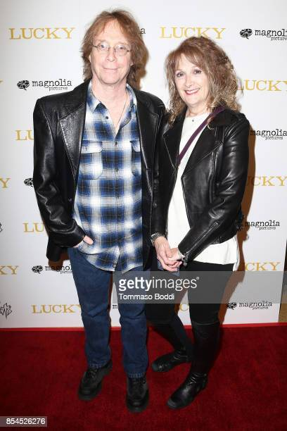 Bill Mumy and Eileen Mumy attend the Premiere Of Magnolia Pictures' 'Lucky' at Linwood Dunn Theater on September 26 2017 in Los Angeles California