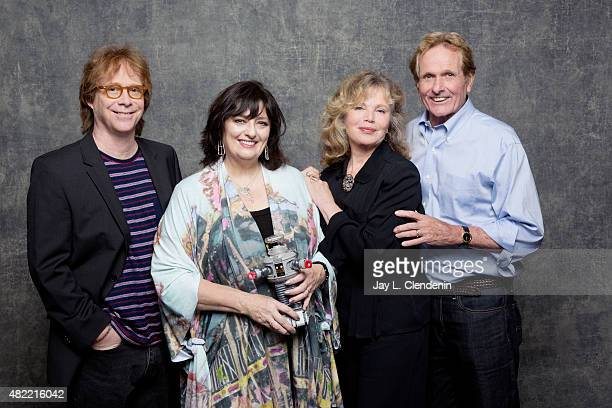 Bill Mumy Angela Cartwright Marta Kristen and Mark Goddard of 'Lost and Space' pose for a portrait at ComicCon International 2015 for Los Angeles...