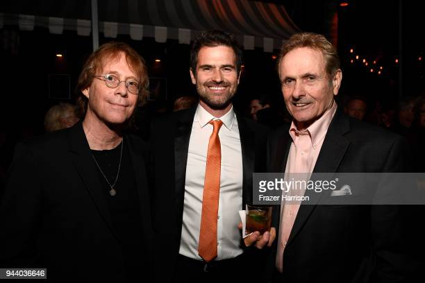Bill MumyBurk Sharpless Mark Goddard attend the Premiere Of Netflix's 'Lost In Space' Season 1 After Party at Le Jardin LA on April 9 2018 in Los...