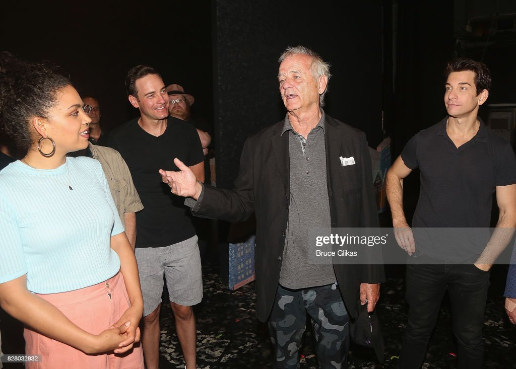 Celebrities Visit Broadway - August 8, 2017 : News Photo