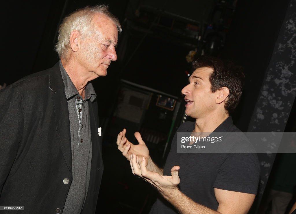 Celebrities Visit Broadway - August 8, 2017 : News Photo