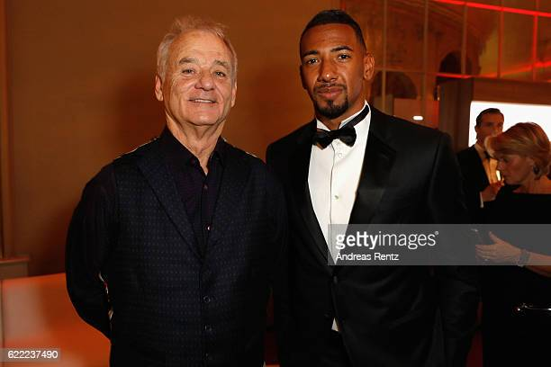 Bill Murray and Jerome Boateng attend the GQ Men of the year Award 2016 after show party at Komische Oper on November 10 2016 in Berlin Germany