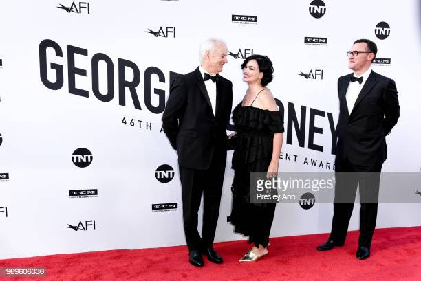 Bill Murray and Karen Duffy attend 46th AFI Life Achievement Award Gala Tribute on June 7, 2018 in Hollywood, California.