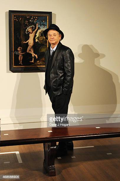 """Bill Murray attends a photocall for """"The Monuments Men"""" at The National Gallery on February 11, 2014 in London, England."""