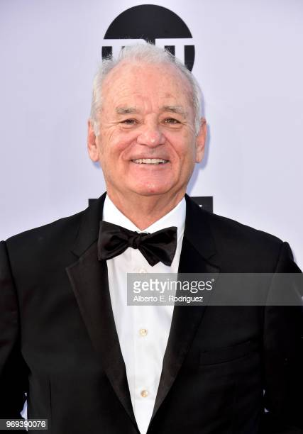 Bill Murray attends American Film Institute's 46th Life Achievement Award Gala Tribute to George Clooney at Dolby Theatre on June 7 2018 in Hollywood...