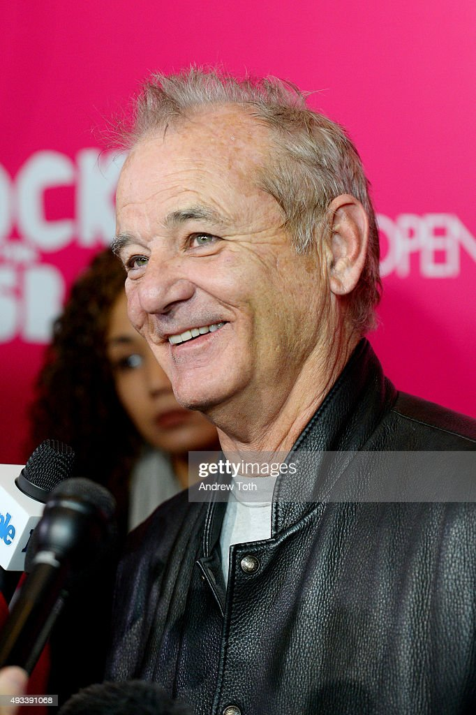 Bill Murray attends 'Rock The Kasbah' New York premiere at AMC Loews Lincoln Square 13 theater on October 19, 2015 in New York City.