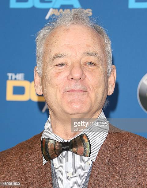 Bill Murray attends the 67th Annual Directors Guild Of America Awards at the Hyatt Regency Century Plaza on February 7 2015 in Century City California