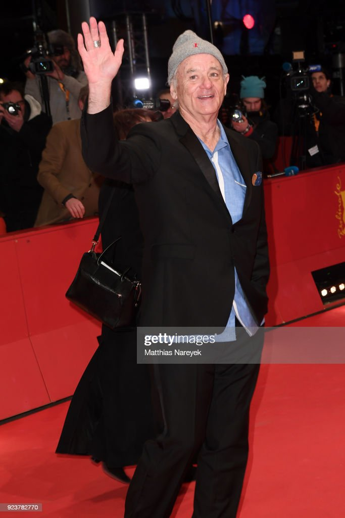 Bill Murray attends the closing ceremony during the 68th Berlinale International Film Festival Berlin at Berlinale Palast on February 24, 2018 in Berlin, Germany.
