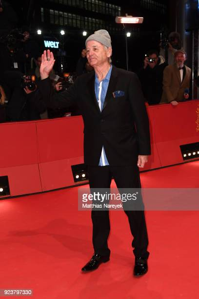 Bill Murray attends the closing ceremony during the 68th Berlinale International Film Festival Berlin at Berlinale Palast on February 24 2018 in...