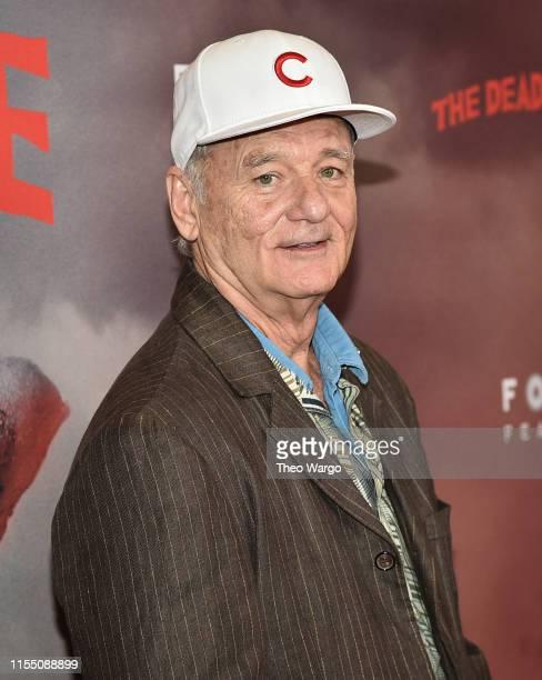 Bill Murray attends The Dead Don't Die New York Premiere at Museum of Modern Art on June 10 2019 in New York City
