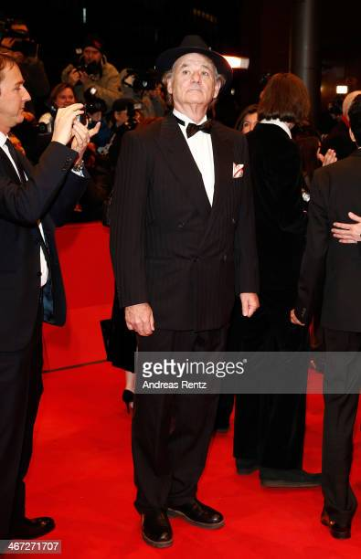 Bill Murray attends 'The Grand Budapest Hotel' Premiere and opening ceremony during the 64th Berlinale International Film Festival at Berlinale...