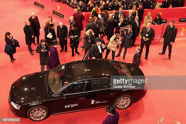 Bill Murray attends 'The Grand Budapest Hotel' Premiere during the 64th Berlinale International Film Festival at Berlinale Palast on February 6 2014...