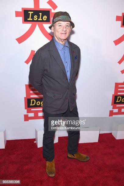 Bill Murray attends the Isle Of Dogs New York Screening at The Metropolitan Museum of Art on March 20 2018 in New York City