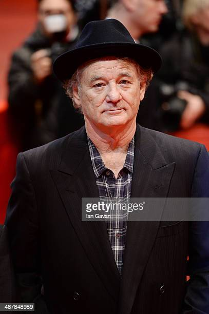 Bill Murray attends 'The Monuments Men' premiere during 64th Berlinale International Film Festival at Berlinale Palast on February 8, 2014 in Berlin,...