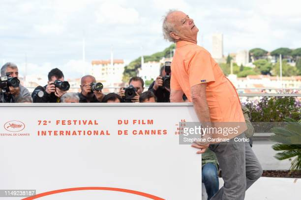 Bill Murray attends the photocall for The Dead Don't Die during the 72nd annual Cannes Film Festival on May 15 2019 in Cannes France