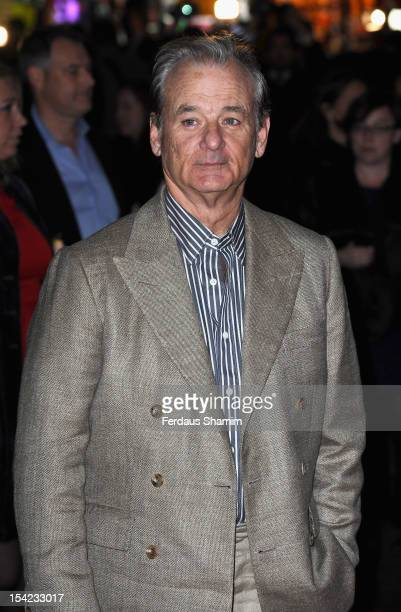 Bill Murray attends the Premiere of 'Hyde Park on Hudson' during the 56th BFI London Film Festival at Empire Leicester Square on October 16, 2012 in...
