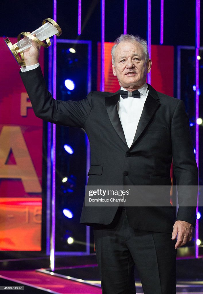 Bill Murray attends the Tribute To Bill Murray during the 15th Marrakech International Film Festival on December 4, 2015 in Marrakech, Morocco.