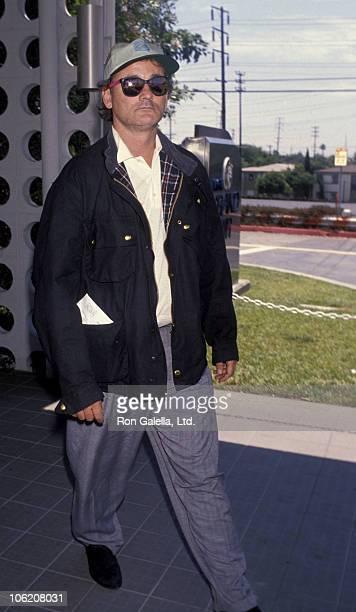 Bill Murray during Bill Murray Sighting at Los Angeles International Airport - July 13, 1990 at Los Angeles International Airport in Los Angeles,...