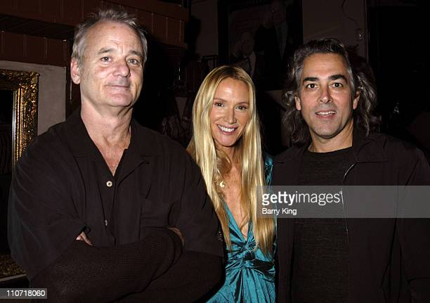 Bill Murray Kelly Lynch and Mitch Glazer during Cocktails and Comedy Benefit for the Fit Community November 3 2005 at The Improv in West Hollywood...