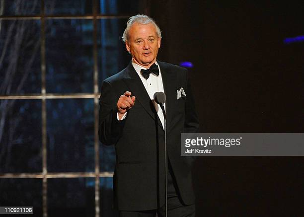Bill Murray speaks onstage at the First Annual Comedy Awards at Hammerstein Ballroom on March 26 2011 in New York City
