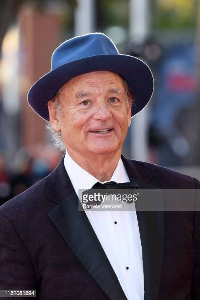 Bill Murray walks a red carpet during the 14th Rome Film Festival on October 19, 2019 in Rome, Italy.