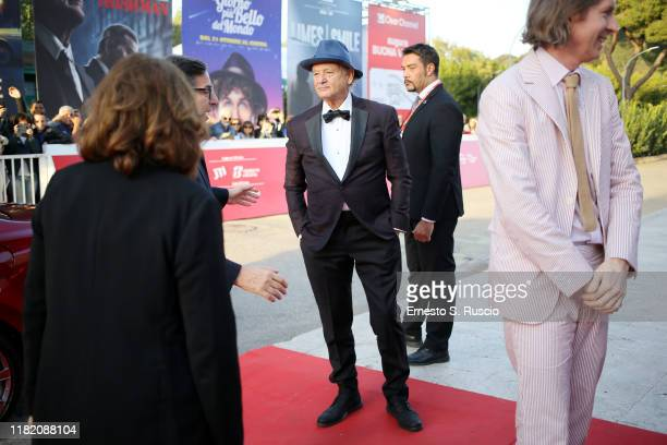 Bill Murray walks a red carpet during the 14th Rome Film Festival on October 19 2019 in Rome Italy