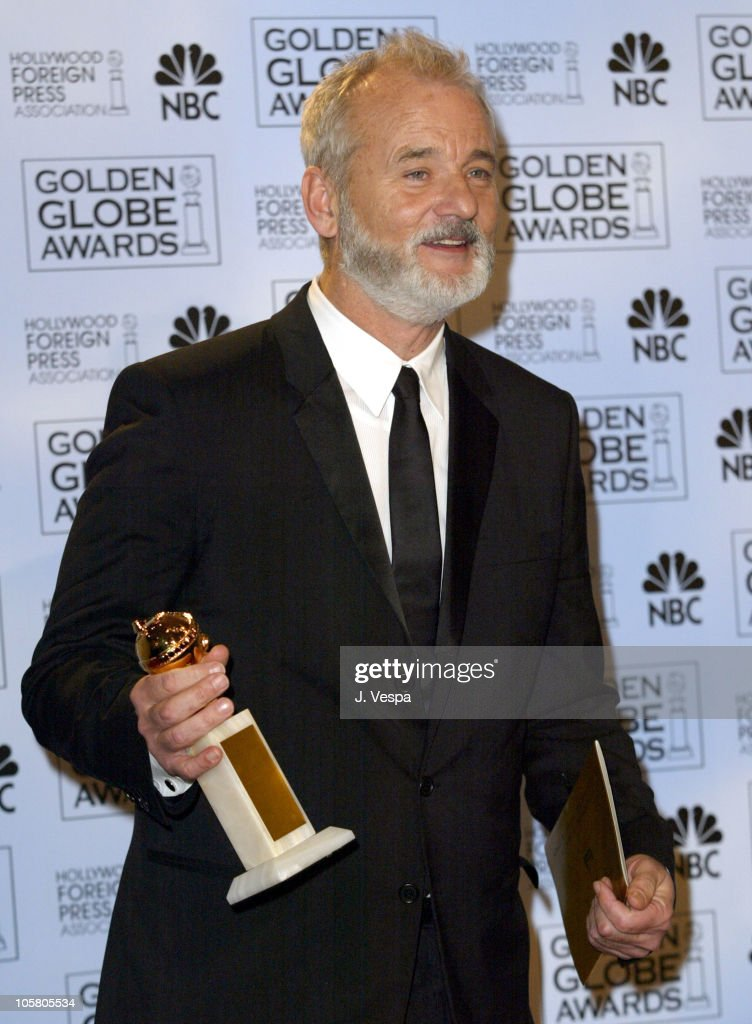 Bill Murray, winner for best actor in a musical or comedy