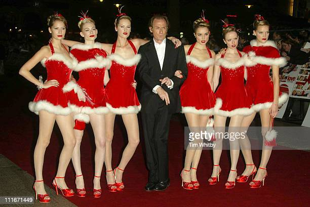 "Bill Nighly during ""Love Actually"" London Premiere - Arrivals at The Odeon Leicester Square in London, United Kingdom."