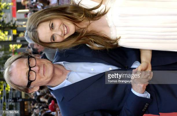 Bill Nighy and Alicia Silverstone during 'Stormbreaker' London Premiere Arrivals at Vue West End in London Great Britain