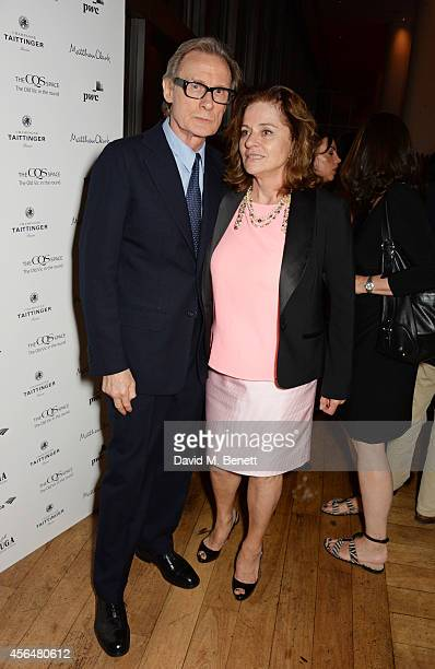 Bill Nighy and Diana Quick attend an after party following the press night performance of Electra playing at The Old Vic at Skylon Grill on October 1...