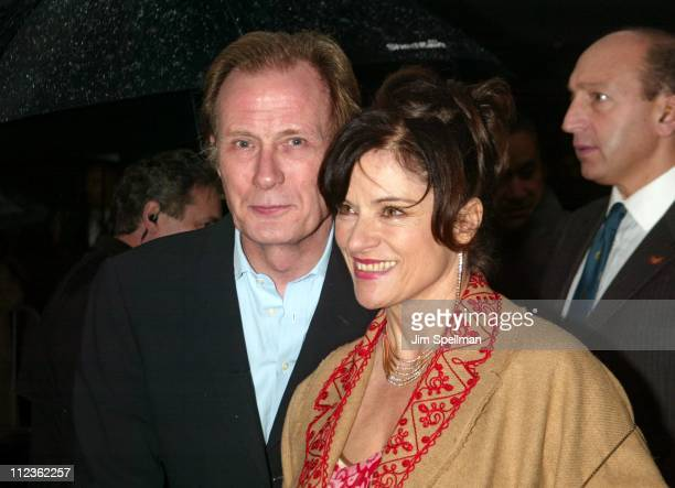 Bill Nighy and Diana Quick during Love Actually New York Premiere at Ziegfeld Theatre in New York City New York United States