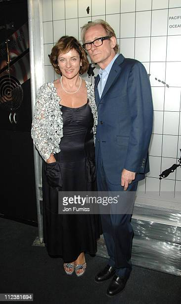 Bill Nighy and Diana Quick during Stormbreaker London Premiere After Party at Cirque Nightclub in London Great Britain