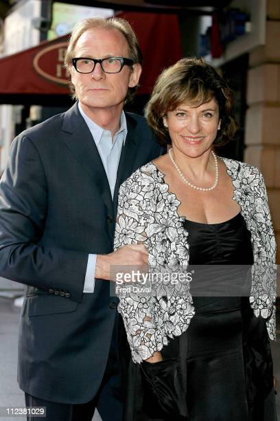 Bill Nighy and Diana Quick during Stormbreaker London Premiere at Vue West End in London Great Britain