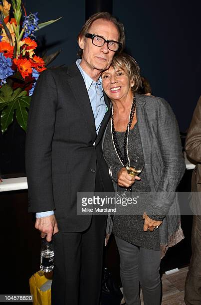 Bill Nighy and Sue Johnston attend the Creative Arts Schools Trust event at BFI Southbank on September 30, 2010 in London, England.