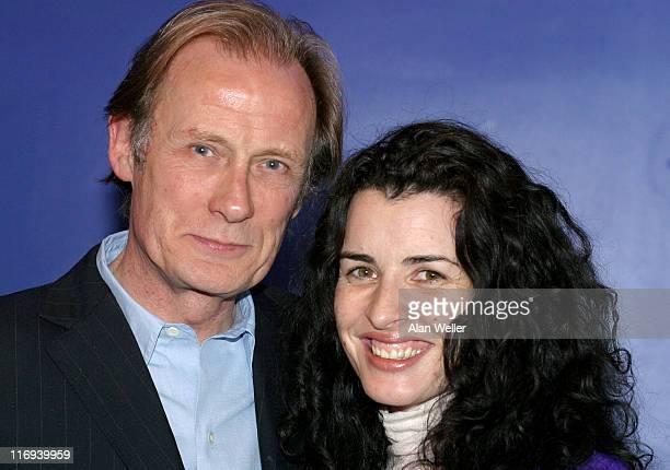 Bill Nighy and Susan Lynch during The Times BFI London Film Festival 2004 'Enduring Love' at London Film Festival in London Great Britain