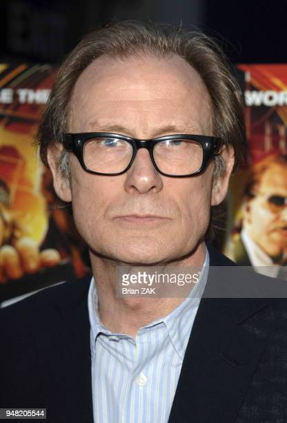 Bill Nighy arrives to the New York Premiere of Alex Rider Operation Stormbreaker held at The Intrepid Sea Air Space Museum New York City BRIAN ZAK