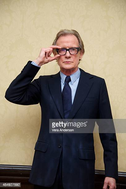 Bill Nighy at the 'Pride' Press Conference at The Fairmont Royal York Hotel on September 6 2014 in Toronto Ontario