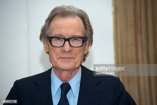 Bill Nighy at 'The Second Best Marigold Hotel' Press Conference at the Claridges Hotel on February 14 2015 in London England