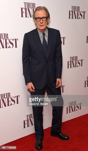Bill Nighy attends a special screening of 'Their Finest' at the BFI Southbank on April 12 2017 in London England