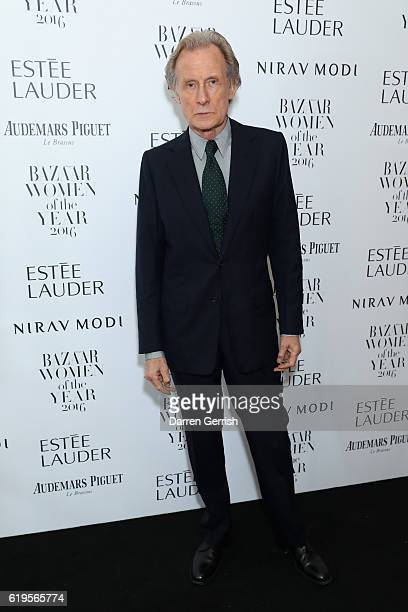 Bill Nighy attends Audemars Piguet Sponsor Of The Harper's Bazarre Women Of The Year Awards 2016 at Claridges Hotel on October 31, 2016 in London,...
