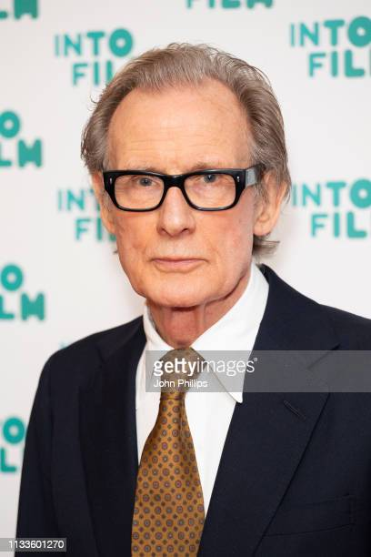 Bill Nighy attends the Into Film Award 2019 at Odeon Luxe Leicester Square on March 04 2019 in London England