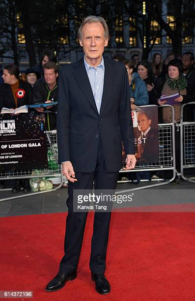 Bill Nighy attends 'Their Finest' Mayor's Centrepiece Gala screening during the 60th BFI London Film Festival at Odeon Leicester Square on October 13...